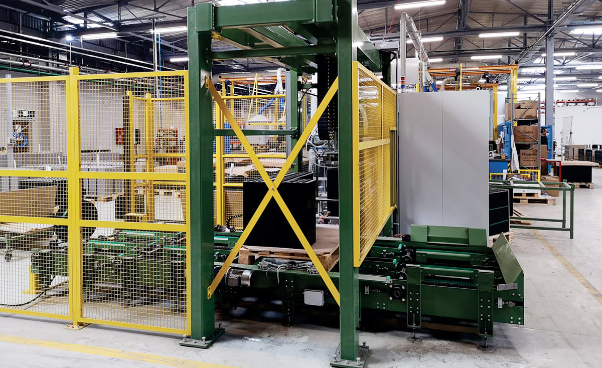 Production of palletizers