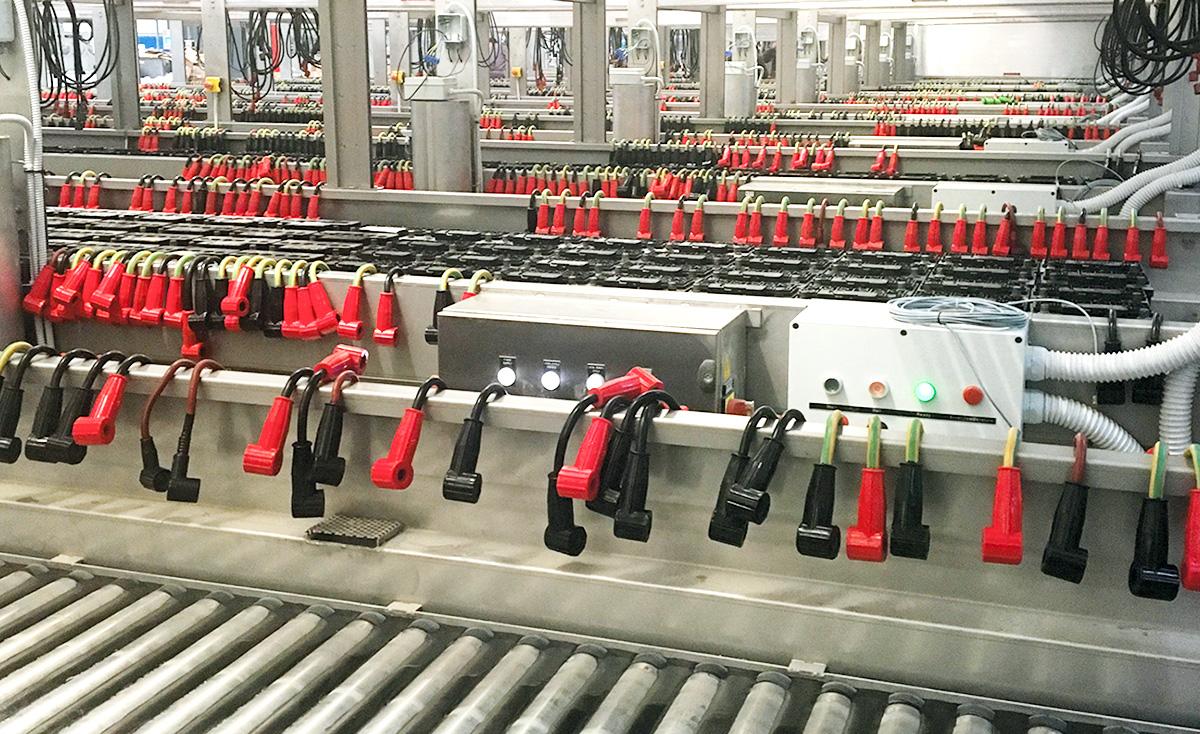 Proces technologiczny elektroformacji