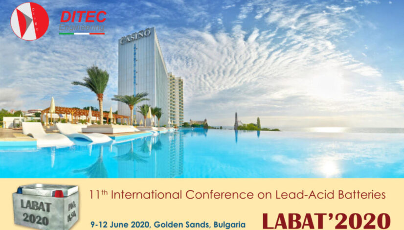 LABAT Battery Conference 2020_ditec_engineering_lead_battery_industry