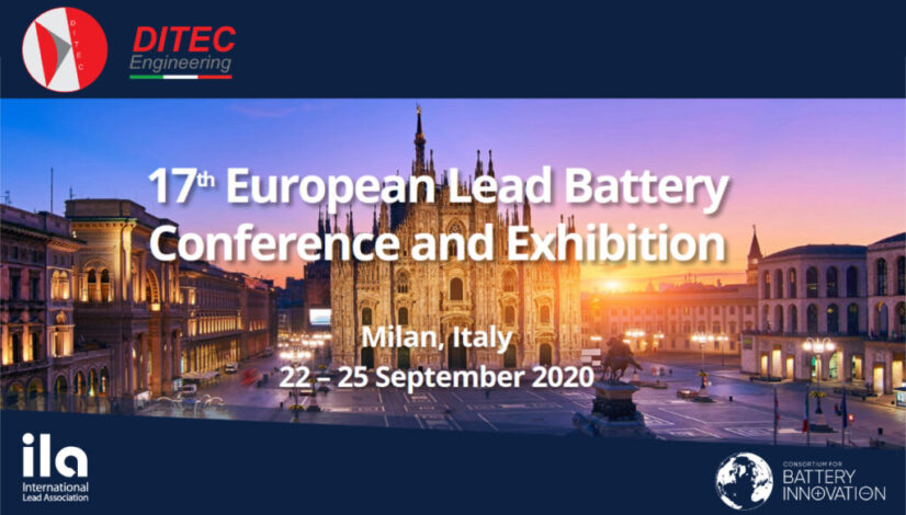 17ELBC Battery Conference 2020_ditec_engineering_lead_battery_industry