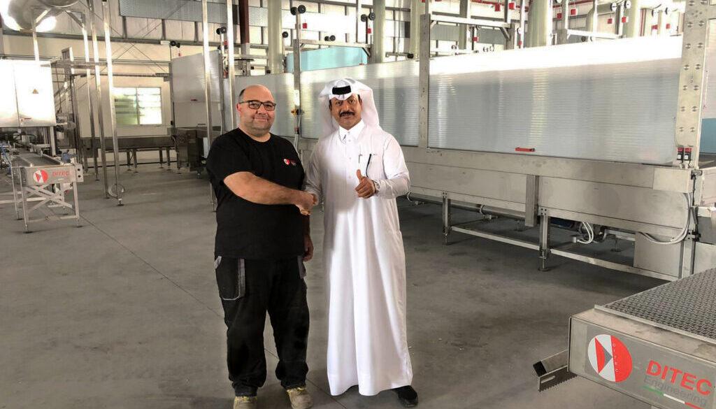Ditec-engineering-qatar-sheik-lead-battery-acid-high-tech-plant