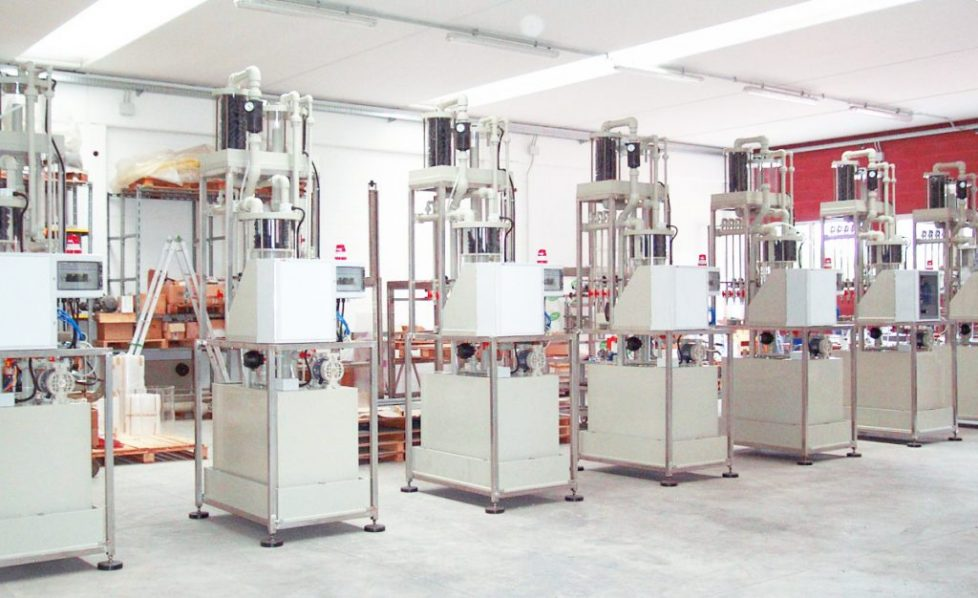 Acid Filling of Industrial Batteries